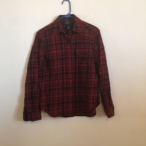 Ralph Lauren plaid flannel